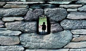 Child in Wall